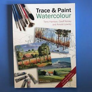 Watercolour Trace & Paint book